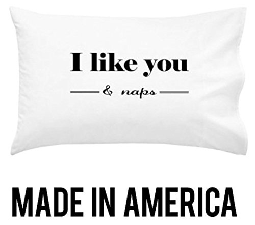 Oh, Susannah I like You and Naps Pillowcase - (1 20x30 inch, White Pillowcase) Birthday Gifts for Her Kids Pillowcase