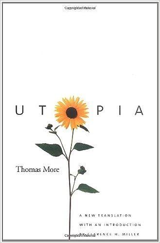 Utopia: Thomas More (Yale Nota Bene)