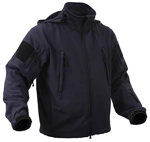 Rothco Special Ops Softshell Jacket, Midnight Blue, 4X 4 Pocket Military Jacket