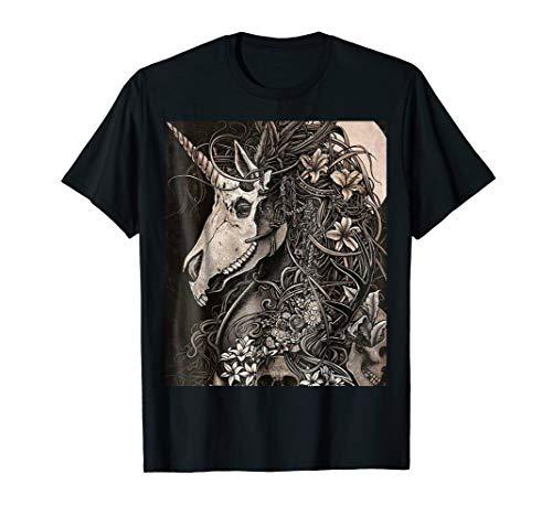 Mask Victorian Masquerade Horror T shirt ()