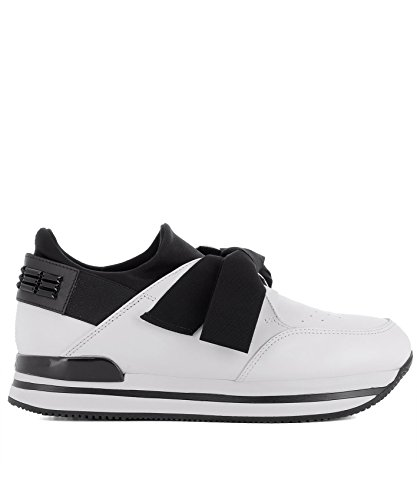 Bianco Donna Pelle Sneakers Hogan HXW2220K130I9I0001 X17wc