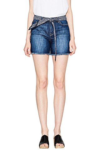 Edc By Wash Blu Esprit Shorts Donna blue Dark xxqwn