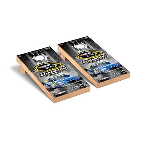 Victory Tailgate NASCAR Jimmie Johnson #48 Desktop Cornhole Game Set 2016 Sprint Cup Champion Version ()