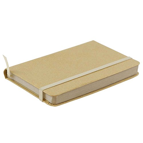 JAM Paper Hardcover Notebook with Elastic Band - Small Journal - 3 3/4