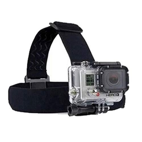 Lannmart Durable Camera Adjustable Head Helmet Belt Strap Headband Mount