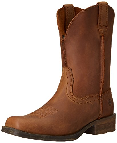 - Ariat Women's Rambler Western Cowboy Boot, Dusted Brown, 9.5 B US