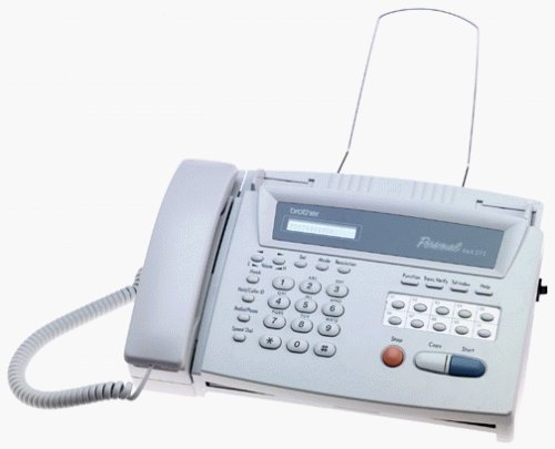Fax-275 Therm Fax/Cop 9.6k 10pg Adf 25spd Dial Lcd Call Id Rj-11c by BROTHER