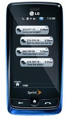 LG Rumor Touch Phone, Blue (Sprint)