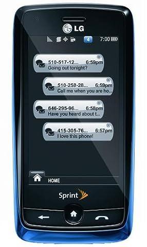 LG Rumor Touch Phone, Blue (Sprint) (Nextel Phone Touchscreen)