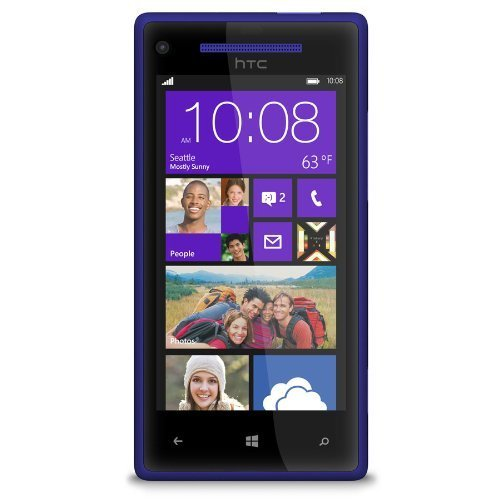 HTC 8X 6990L 16GB Verizon CDMA 4G LTE Windows Smartphone - Blue (Windows 8 Phone Verizon compare prices)