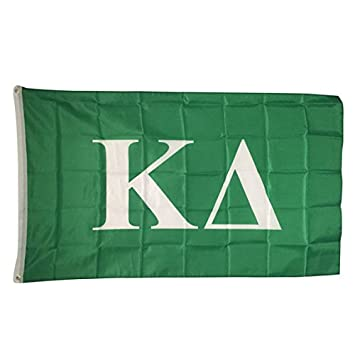kappa delta letter sorority flag greek letter use as a banner large 3 x 5 feet