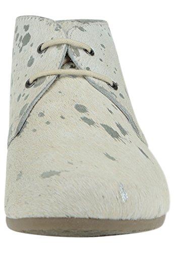 Maruti 66.1072.05 - Zapatillas de cuero para mujer multicolor multicolor, color blanco, talla 39 EU