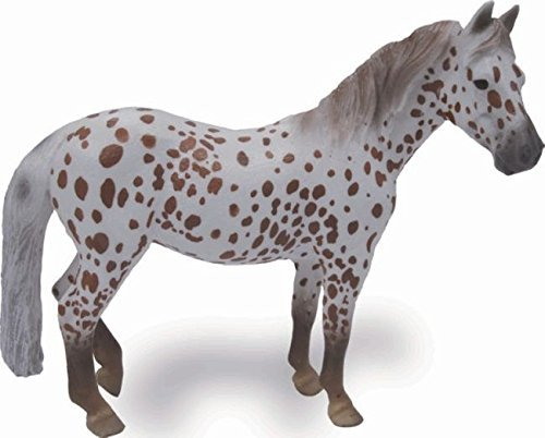 Collecta British Spotted Pony Mare Horse Toy (Spotted Horse Pony)