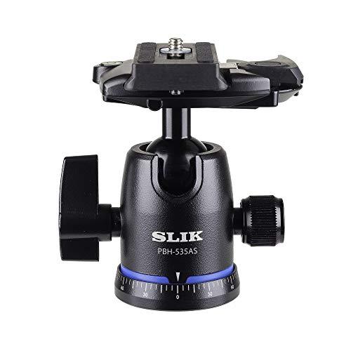 SLIK Pbh-535As Ball Head with Arca Compatible QR, Black (618-819)