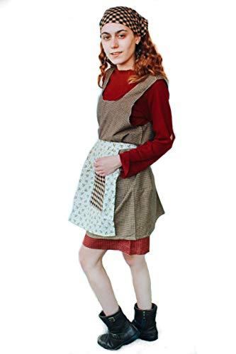 Children's Costume | Annie, Kids, Play | Girls (XLarge) Blue]()