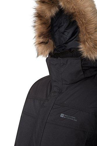2908d5dc9 Mountain Warehouse Antarctic Extreme Down Mens Jacket - Adjustable ...