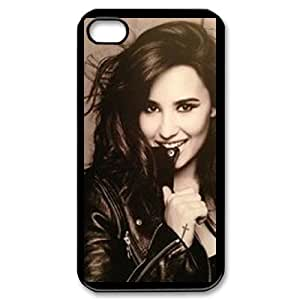 YYCASE Customized Print Demi Lovato Pattern Back Case for iPhone 4/4S