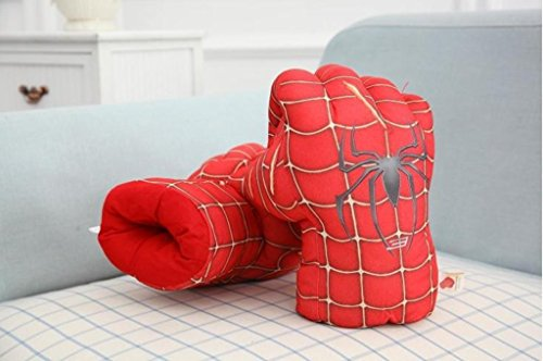 Cos-me The Amazing Spider-Man 2 Spiderman Cosplay Costumes Boxing Gloves Toys
