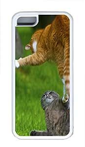 iPhone 5C Case Fun Fight Outdoors TPU Custom iPhone 5C Case Cover White