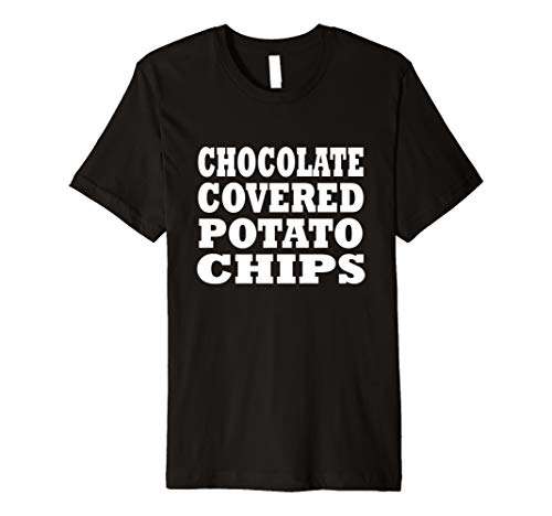 Chocolate Covered Potato Chips Halloween Costume Party -