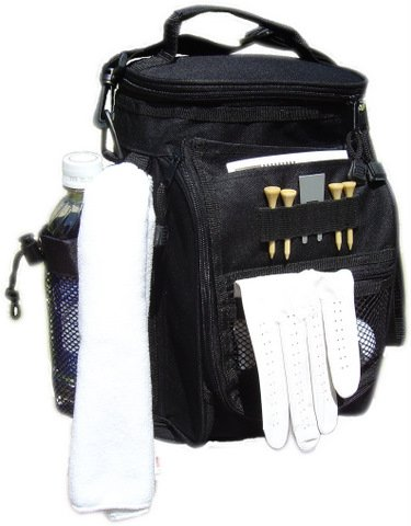 Golf Accessories Cooler Bag with Pouch - Mini Golf Cooler Bag