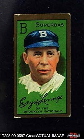 9881681d714cc Amazon.com  1911 T205 Edgar Lennox Brooklyn Dodgers (Baseball Card ...