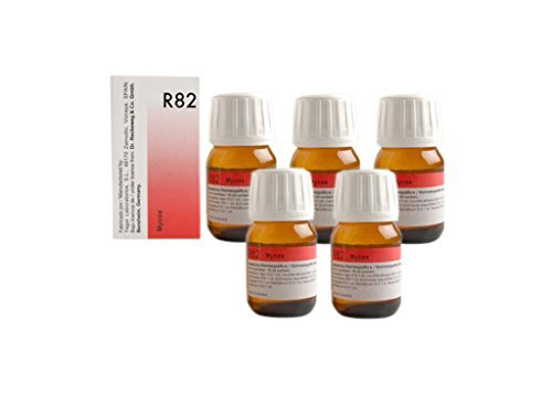 Dr.Reckeweg Germany R82 Anti Fungal Drops Pack Of 5 (Best Fungal Infection Cream In India)