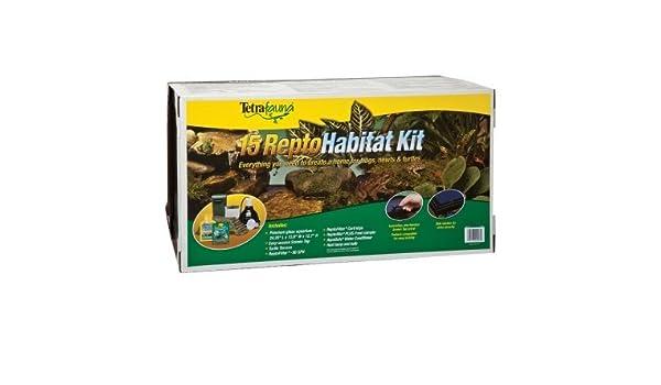 UU. sts20003 Tortuga Kit para Acuario, 15-Gallon: Amazon.es: Productos para mascotas