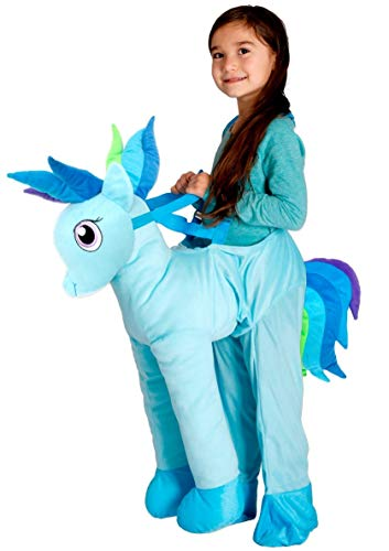 Blue Pony Horse Rider Ride On Toddler Halloween Costume Size 2T