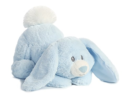 Aurora Baby World Lil' Tushies Bunny Toy, Aiden Blue