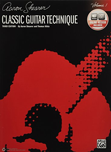 - Classic Guitar Technique, Vol 1: Book & Online Audio (Shearer Series)
