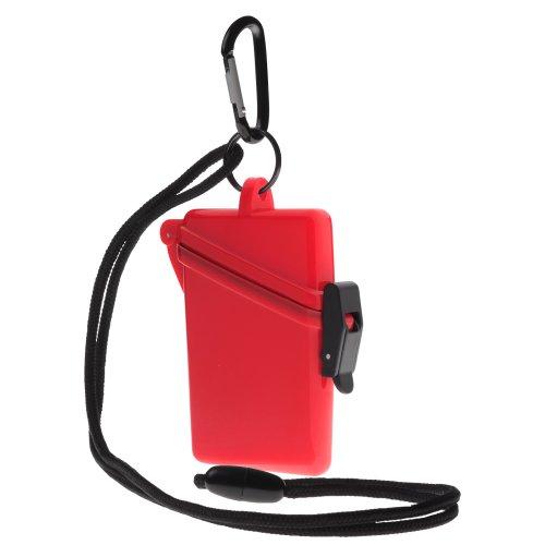 Witz Surf Safe Waterproof Case, Red