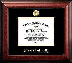 Purdue University Gold Embossed Diploma ...