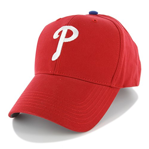 MLB Philadelphia Phillies Kid's Structured Cap, Kid, Red
