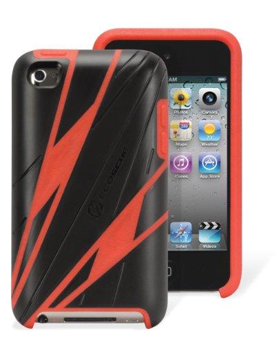 SCOSCHE it4spr SportKASE t4 - Sport Case for iPod touch (Gen4) - 2 Pack - Retail Packaging - Red