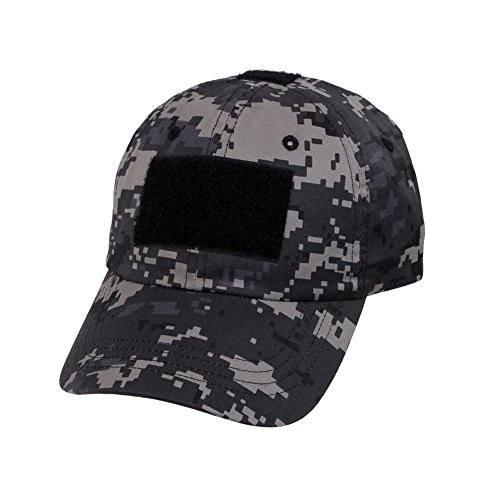 Rothco SUBDUED URBAN DIGITAL CAMO Operator Tactical Patch Baseball Cap Hat
