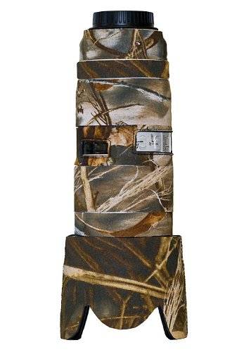 LensCoat Canon 70-200 f/2.8 IS II Lens Cover (Realtree Max4 HD) camouflage neoprene camera lens sleeve protection LC702002M4 by LensCoat