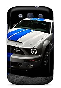 Bernardrmop Perfect Tpu Case For Galaxy S3/ Anti-scratch Protector Case (ford Mustang Shelby 2013) by lolosakes