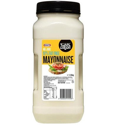 Kraft Fat Free Mayonnaise 2.5kg (Kraft Fat Free Mayonnaise)