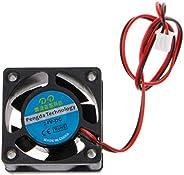 Junlinto, Cooling Fan 40x40x20mm DC 24V 2-Pin Cooler Brushless Mini Cooling Fan 4020