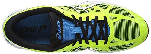 ASICS Gel-DS Trainer 20 NC - Zapatillas de deporte para hombre Amarillo (Flash Yellow/White/Turquoise 0701)