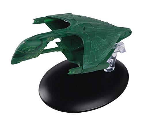 - Eaglemoss DEC172290 Star Trek The Official Starships Collection Romulan Warbird Ship Replica, Multicolor, Pack of 24