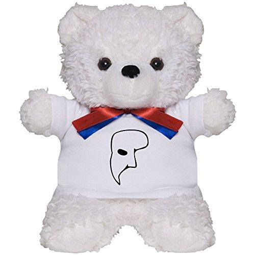 CafePress - Phantom Of The Opera - Teddy Bear, Plush Stuffed (Make Phantom Opera Costume)