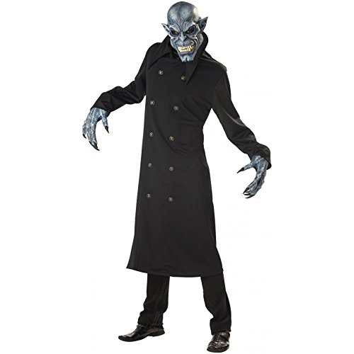 Adult Night Fiend Halloween Costume - -