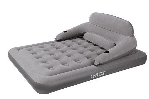 Intex Convertible Lounge Queen Bed Kit, Outdoor Stuffs