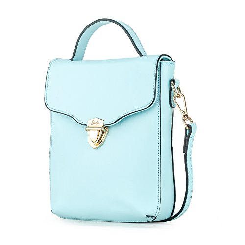 Barbie BBFB535 Bolso a mano con broche de metal Bolso de Serie princesa para mujer Azul