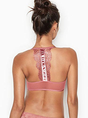 96758d99e758b Victoria s Secret Bombshell Bra and Thong Set(36D) Rose Shimmer at Amazon  Women s Clothing store