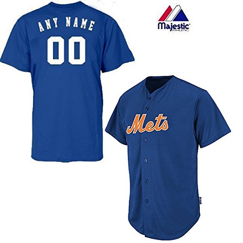 Youth Small New York Mets CUSTOMIZED Major League Baseball Cool-Base Replica MLB Jersey