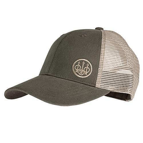 - Beretta Trident Trucker Hat, Green/Khaki