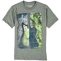 T-Shirt Estampada Infantil Masculino Verde Militar